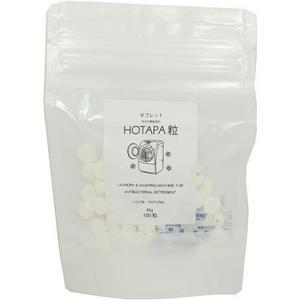 日本製 HOTAPA 貝殼粉洗衣槽清潔錠  天然貝殼粉 雙重去污 100錠  清潔錠  (呼呼熊) 日本代購