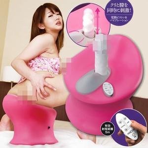 【瘋狂電動插穴機 噴水噴到爽 】日本進口 男女可用 高速抽插按摩棒專用椅 queen情趣用品