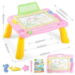 兒童畫畫板桌磁性寫字板寶寶玩具1-3歲2幼兒