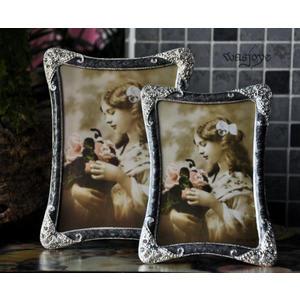 銀髮簪 歐式古典哥特 經典手工鑲邊 相框