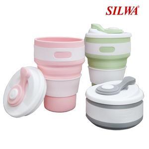 西華 SILWA 旅行矽膠折疊杯