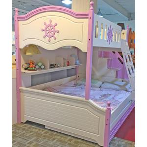 「首雅傢俬」小航海士雙人上下舖 上下床 功能床 兒童高低床 書櫃床(預購款)