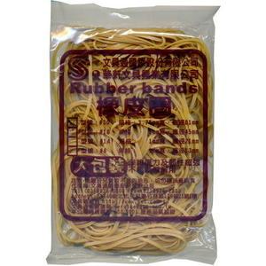 文具通30#橡皮圈特大3m/m  麵條粗 大包裝
