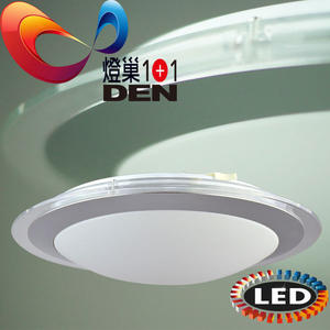 飛碟造型15W -黃光 LED吸頂燈 【燈巢1+1】 燈具。燈飾。Led居家照明。桌立燈 工廠直營批發  01032857