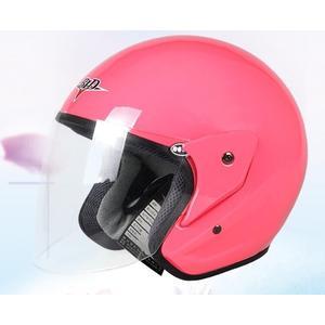 機車安全帽防霧半盔半覆式安全帽