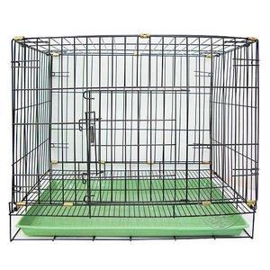 【培菓平價寵物網】《台灣製造》 2尺靜電黑體折疊式居家狗籠