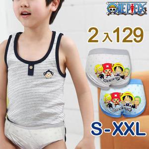 【esoxshop】ONE PIECE 航海王兒童內褲/三角褲-可愛Q版│正版授權《海賊王》