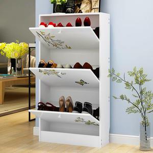 鞋櫃簡約現代門廳櫃超薄超薄翻鬥鞋櫃玄關櫃客廳櫃子衣帽櫃陽光櫃xw