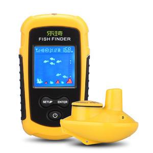 樂琦探魚器無線聲納水下可視高清釣魚器探測器手機超聲波捕魚聲?xw
