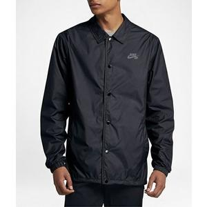 NIKE SB SHIELD C-OACHES 黑 防潑水 風衣外套 教練外套 夾克 運動外套 男款 829510-010