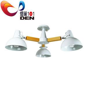 北歐時尚風   哥倫比亞金屬半吸頂3燈【燈巢1+1】 燈具。燈飾。Led居家照明。桌立燈   03059379