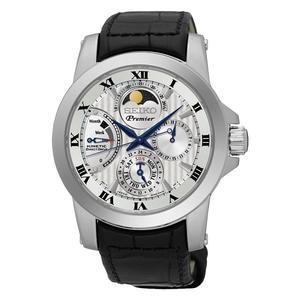 精工SEIKO PREMIER人動電能月象錶 (SRX011J2)皮帶/5D88-0AG0P