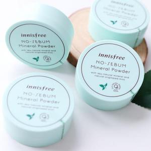 韓國 innisfree 礦物質控油蜜粉 5g 無油光 天然薄荷 無油無慮礦物控油蜜粉 控油 蜜粉 定妝