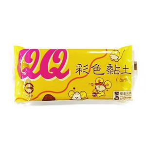 QQ彩色油黏土.鵝黃色 約400g