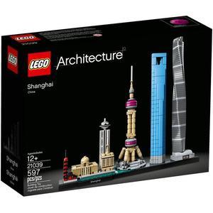 樂高LEGO Architecture 世界經典建築 中國上海 21039 TOYeGO 玩具e哥