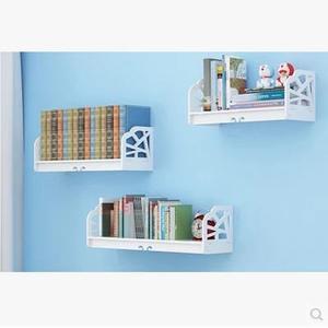 牆上置物架客廳牆壁掛牆面隔板擱臥室多層書架免打孔簡約現代裝飾【(30+40+50)*寬15(三件)】