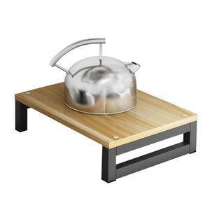灶台蓋板廚房微波爐收納架子天燃氣集成灶置物架多動能電磁爐子 LOLITA