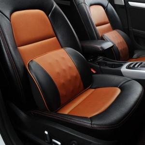 汽車腰靠墊透氣記憶棉靠背腰墊腰部護腰靠枕司機車用座椅支撐腰托