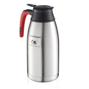 民宿、旅館、餐廳最愛~《 妙管家》2000ml 第二代真空保溫咖啡壺HKCF-2000S  《刷卡分期+免運費》