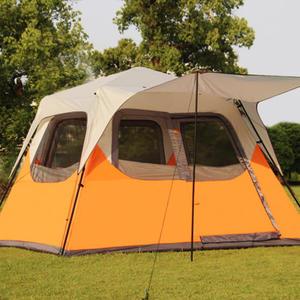 ♚MY COLOR♚伸縮式自動大帳篷 5-7人 戶外 裝備 雙人 野營 快速 旅行 家庭 海邊 草地【I11】