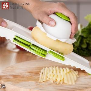 廚具 切菜器多功能 碎菜器土豆切絲器切菜機商用擦絲器刨絲器