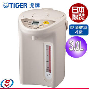 【信源電器】3.0L【TIGER虎牌3.0L微電腦電熱水瓶】 PDR-S30R