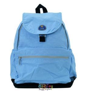 Roland 多口袋設計大容量 後背包 媽媽包 Dora II 淺藍色