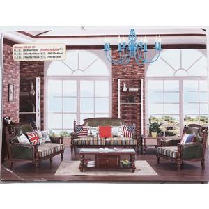 【大熊傢俱】830玫瑰系列 歐式 美式皮沙發 歐式沙發多件沙發組 皮沙發 雕花   布沙發