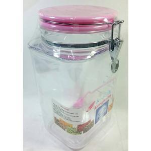 【大名家密封罐2500CC】060392 透明筒 糖果罐餅乾罐 保鮮罐 防潮 防螞蟻【八八八】e網購