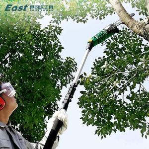 高枝鋸交流電動伸縮加長桿多功能高空鏈鋸樹家用園林高枝剪修枝鋸 MKS免運
