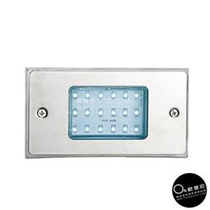 戶外崁燈★LED18珠長方型照明(藍光) 戶外崁燈♥燈具燈飾專業首選♥♥歐曼尼♥