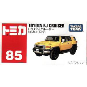 【 TOMICA火柴盒小汽車 】TM085 TOYOTA FJ CRUISER (黃) ╭★ JOYBUS玩具百貨