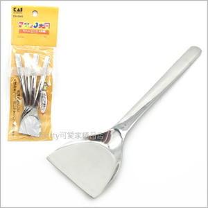 貝印 4入不鏽鋼迷你小平鏟-是真的可以拿來煎食物.也可以給小朋友辦家家酒-日本製