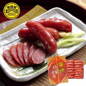 【黑橋牌】二斤招牌黑豬肉香腸禮盒(真空包裝)-原味、蒜味、古早味、綜合