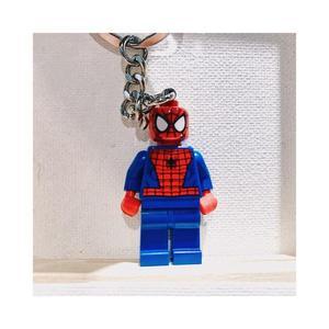 【蟹老闆】樂高鑰匙圈 - 蜘蛛人