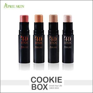 【即期品】韓國 April Skin 4D 立體 修容棒 8g 底妝 修容 腮紅  *餅乾盒子*