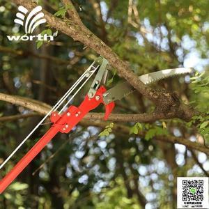 園藝伸縮高枝鋸園林工具高枝剪高空果樹摘果剪刀高枝剪  99一件免運