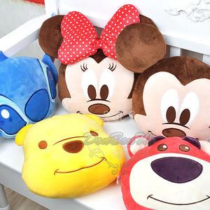 迪士尼米奇米妮熊抱哥史迪奇維尼熊抱枕靠枕午安枕大頭525361通販屋