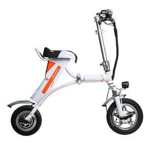 索羅門K1迷你折疊電動車電瓶車鋰電池助力電動自行車成人代步單車 MKS 免運