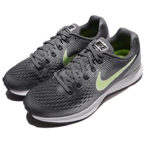 Nike 慢跑鞋 Wmns Air Zoom Pegasus 34 灰 黃 氣墊避震 運動鞋 女鞋【PUMP306】 880560-002