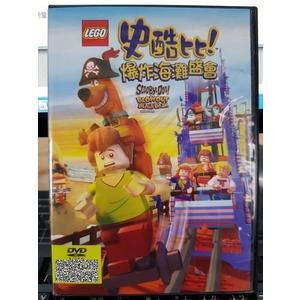 挖寶二手片-P01-168-正版DVD-動畫【史酷比 爆炸海灘盛會】-樂高動畫電影