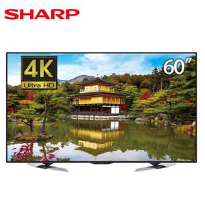 SHARP 60吋4K聯網液晶電視 LC-60U35MT~含基本安裝