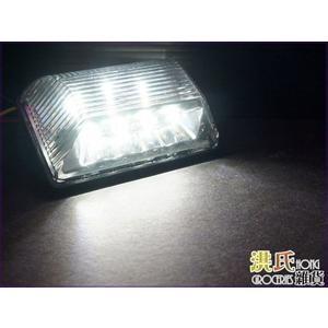 【洪氏雜貨】304A756 剎車燈 LED 2+8+4燈 白 單入 24V 貨車改裝燈 照地燈 邊燈 警示燈 方向燈