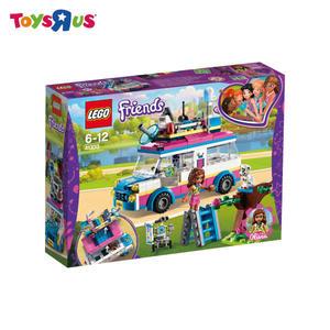 玩具反斗城  樂高 LEGO  Friends  41333 奧麗薇亞的勤務車