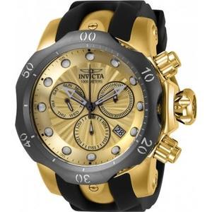 瑞士INVICTA手錶-Venom系列 1千米防水 石英計時黃金腕錶 24258瑞士錶 男士手錶 英威塔男錶