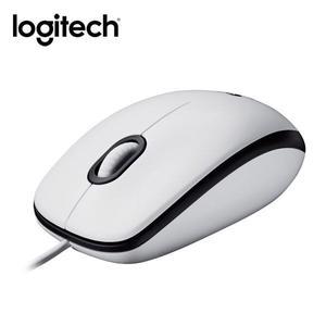 全新 羅技 Logitech M100r USB有線 光學滑鼠 雙手適用 白色