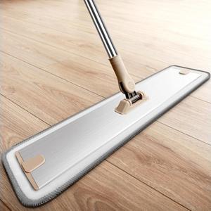 鋁合金平板拖把60cm加大號薄底塵推家用瓷磚木地板酒店拖把 露露日記