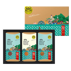 【黑橋牌】大藝遊府城禮盒A(特製肉酥、肉乾、肉片)
