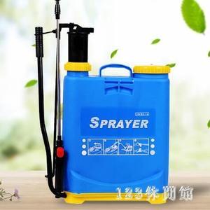 噴霧器 手動噴霧器農用背負式果樹噴農藥高壓消毒噴霧機噴壺LB1170【123休閒館】