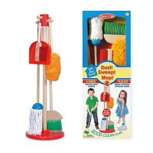 地板清潔組 Melissa & doug 兒童幼兒教具玩具遊戲 打掃  情境社會扮演家酒專業工具造型配件